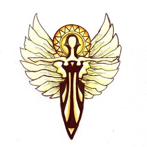 Holy Symbol of Sarenrae by butterfrog.deviantart.com on @DeviantArt