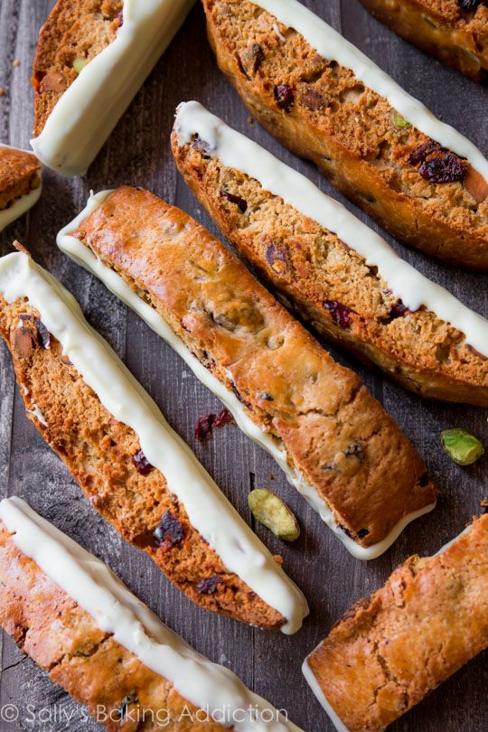 White Chocolate Cranberry Pistachio Biscotti | Recipe ...