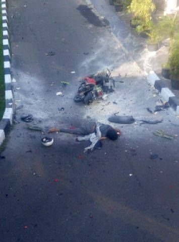 Ini Foto dan Kronologi Bom Bunuh Diri di Markas Polres Surakarta