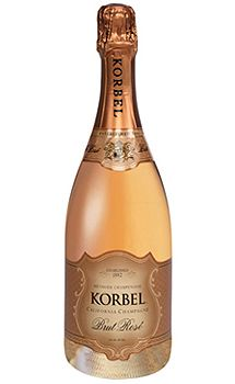 Korbel Brut Rosé Champagne, $49.00 #gifts #1877spirits #champagne #springtime