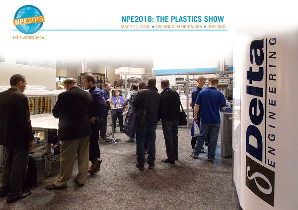 DELTA ENGINEERING AT NPE  Delta Engineering will be exhibiting again at #NPE – the world's largest plastics trade show and conference of the year. NPE offers huge benefits and opportunities for you and your company. Read more and take your complimentary guest pass for #NPE2018 ! https://delta-engineering.be/news#tab-2