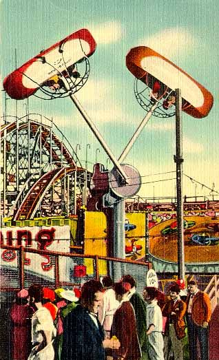 33 best greetings from coney island images on pinterest coney coney island independent rides the loop o plane m4hsunfo