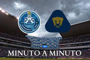Puebla vs Pumas; Liga MX en vivo MINUTO A MINUTO - Milenio.com