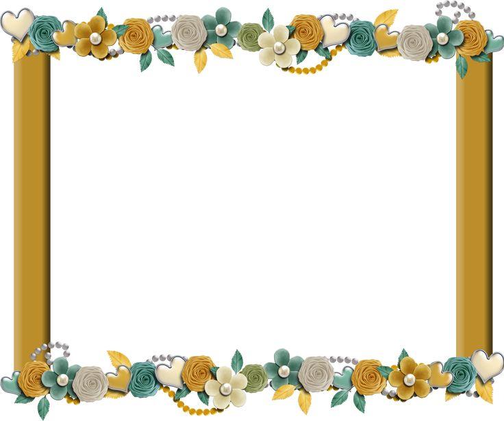 Free Scrapbooking Frames | Free Digital Scrapbook Elements: Free Sunny Teal Digi Scrapbook Frame ...