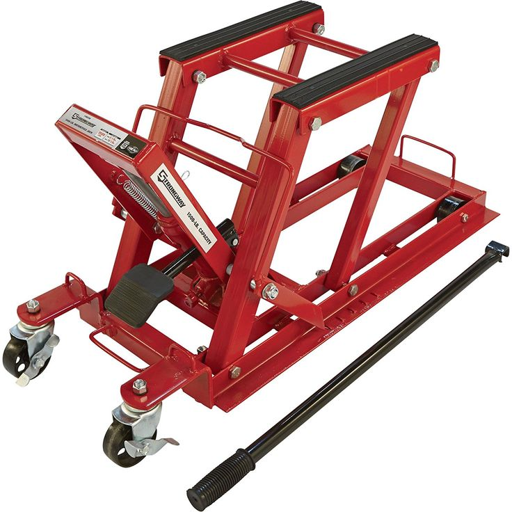 Amazon.com: Strongway Hydraulic Motorcycle Jack/Utility Vehicle Lift - 1,500-Lb. Capacity, 5 1/8in.-16 1/8in. Lift Range: Automotive