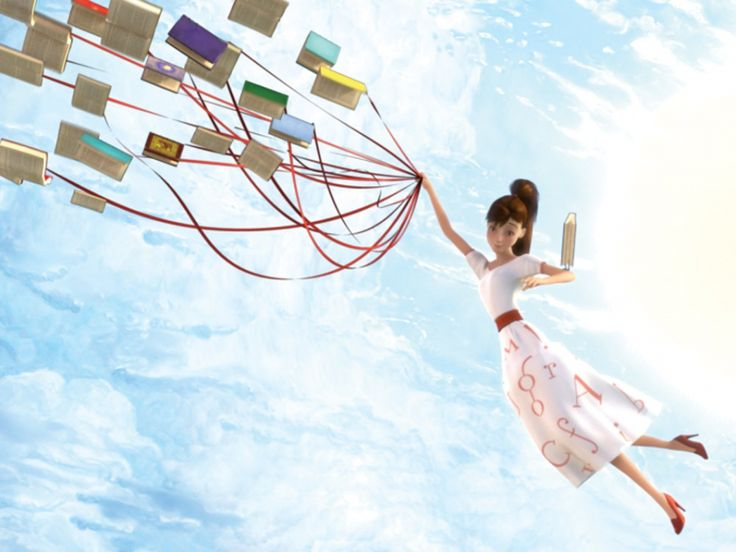 Books make you fly
