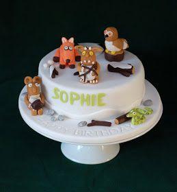 Vanilla Frost: Gruffalo's Child Birthday Cake