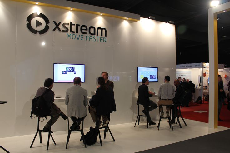 #Xstream stand at #ibc2013