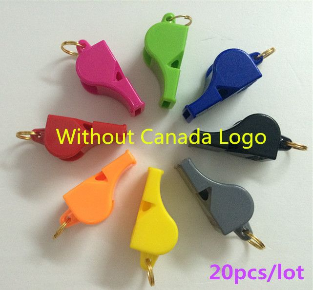 20pcs/lot FOX 40 Referee Whistle Classic Basketball Whistle Volleyball Football Dolphin Tennis Whistle Apito Without Canada Logo