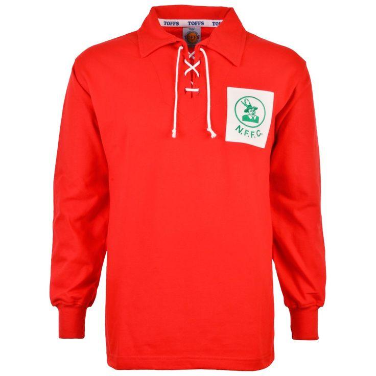 Nottingham Forest 1950s Retro Football Shirt