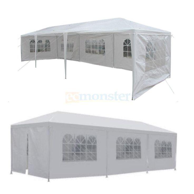 10'x30' Party Wedding Outdoor Patio Tent Canopy Heavy duty Gazebo Pavilion Event | Home & Garden, Yard, Garden & Outdoor Living, Garden Structures & Shade | eBay!