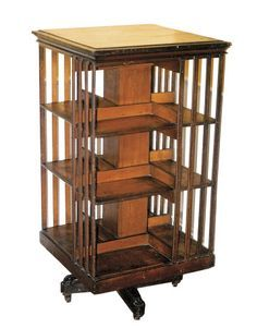 Just like my Grandmother's rotating bookcase, which is now in my home. One of my most prized possessions.