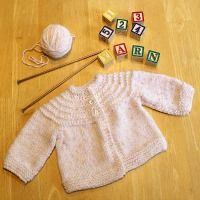 Another 5 Hour Baby Sweater {Knit Pattern}                                                                                                                                                                                 More