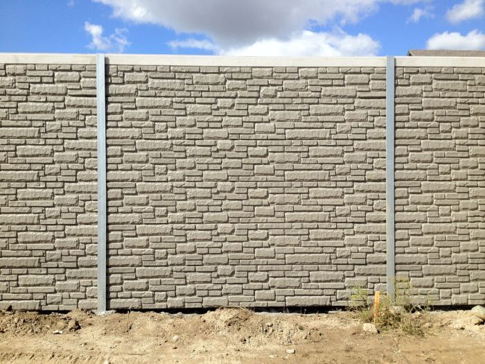 Noise Barrier U0026 Retaining Wall Project Gallery | Design Concrete Systems ... Amazing Design