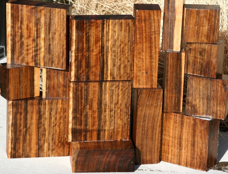 Exotic Wood Shedua Also Known As Ovangkol Or Shedua This