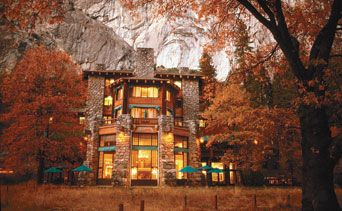 The Ahwahnee in the fall, Yosemite: Natural Wonder, Yosemite National Parks, Favorite Places, Ahwahn Hotels, Parks Hotels, California, Ahwahne Hotels, Lodges, Nast Travel