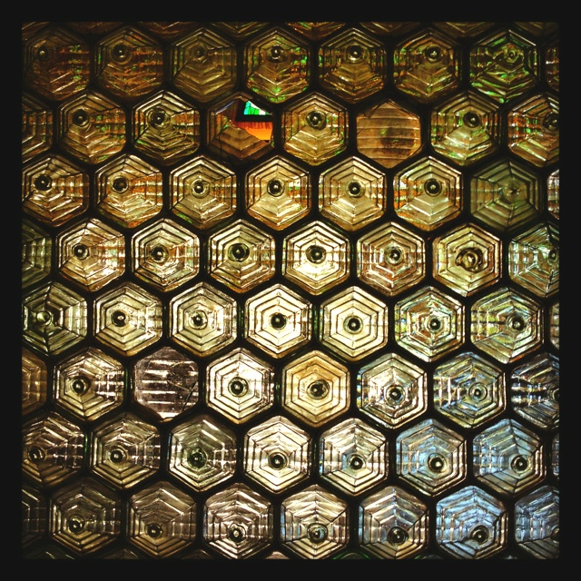 Another look at those hexagonal glass bricks
