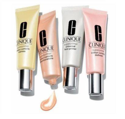 maquiagem pré base Clinique