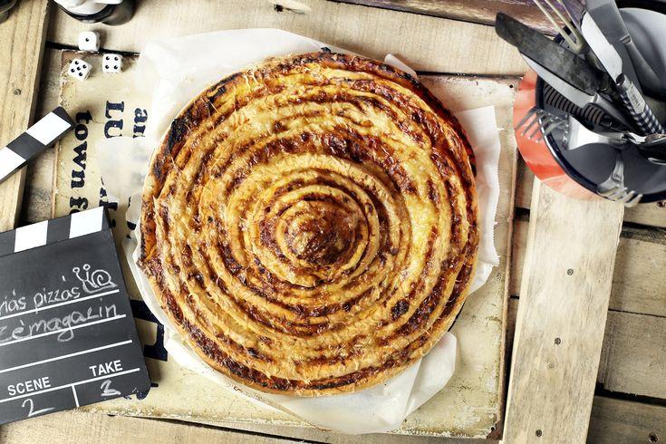 Itt a pizza méretű pizzás csiga! • Fördős Zé Magazin