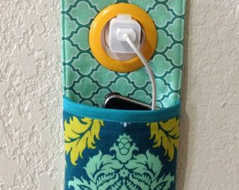 iPhone, iPod Touch, Smartphone Dockingstation / Wand Fassung Halter / Handy-Ladegerät Halter ** Joel Dewberry Aviary 2 **