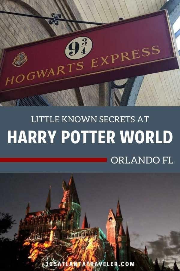 Harry Potter World Florida Secret Details For The True Fan Harry Potter World Florida Harry Potter World Universal Studios Orlando Harry Potter