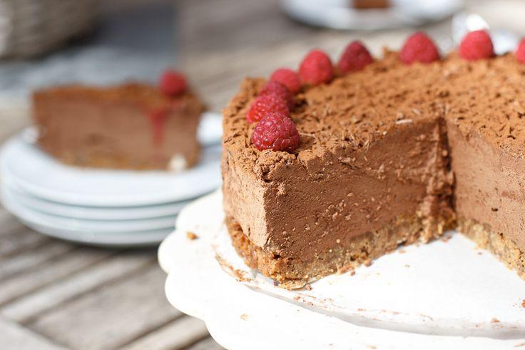 Chocolade truffeltaart - Zoetrecepten