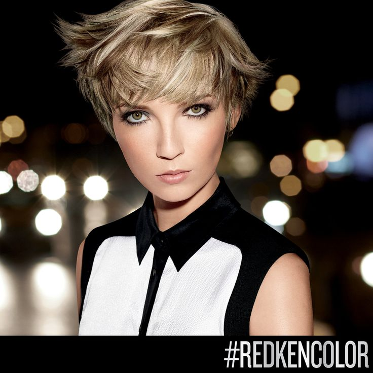 A mix of sandy and light blonde #highlights gives your