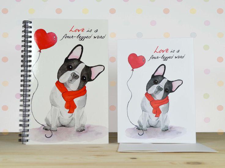 A Bulldog Love Gift Set