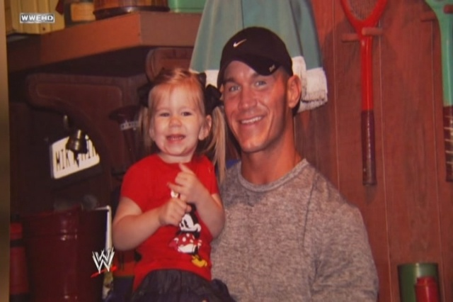 Randy Orton and his daughter Alanna Marie Orton. | Parents ...
