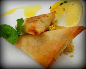 Receitas práticas de culinária: Chamuças de Frango no Forno