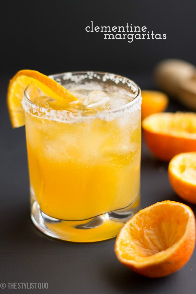 Clementine Margaritas - The Stylist Quo