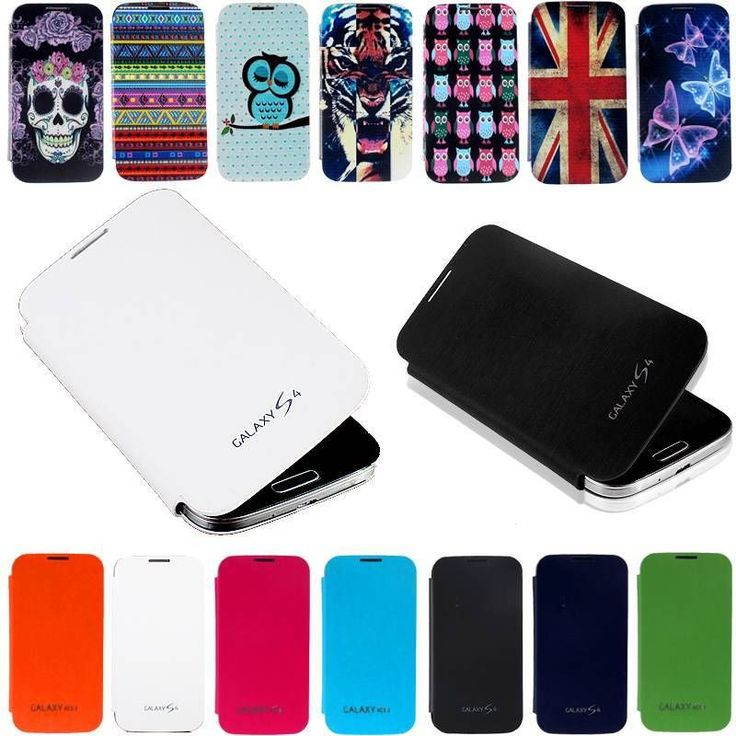 FITTED BACK BATTERY COVER FLIP PU LEATHER CASE POUCH FOR SAMSUNG MOBILE PHONES