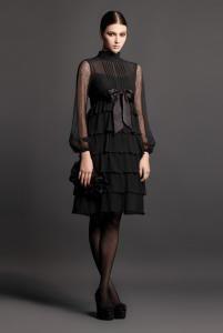 Уэнздей аддамс платье