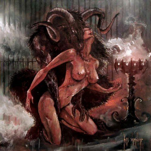 Erotic demon artwork