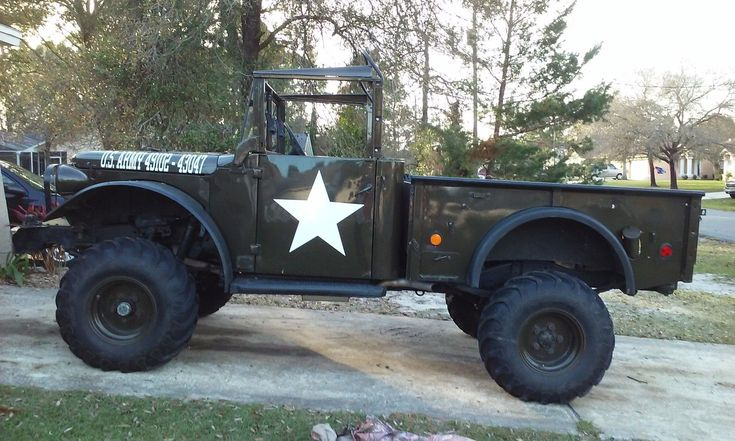 dodge m37 restored army truck chevy v 8 for sale in spring hill expedition vehicles. Black Bedroom Furniture Sets. Home Design Ideas