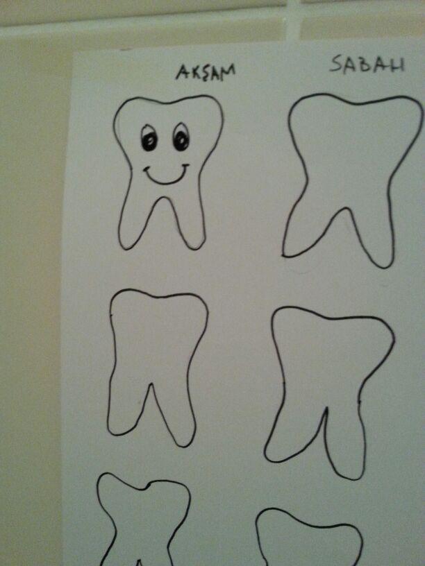 diş fırçalama düzeni oturtuyoruz.