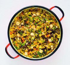 Paella con azuki e tofu - Tutte le ricette dalla A alla Z - Cucina Naturale - Ricette, Menu, Diete