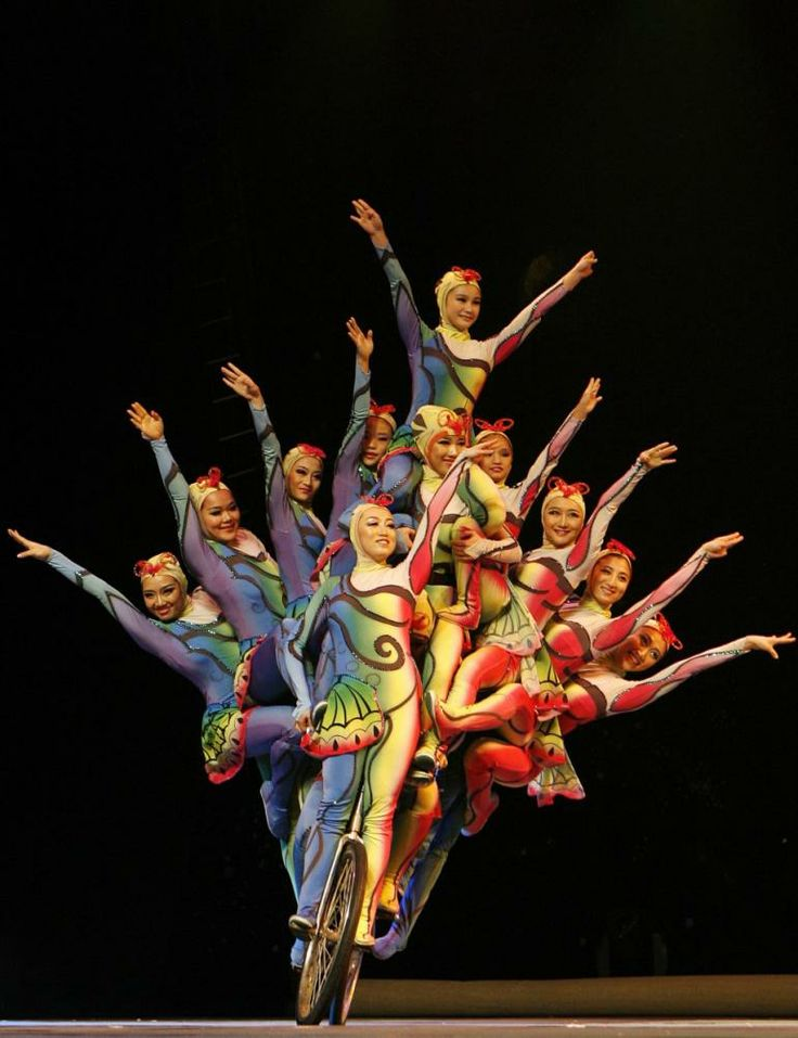 Chinese performers - Overloaded