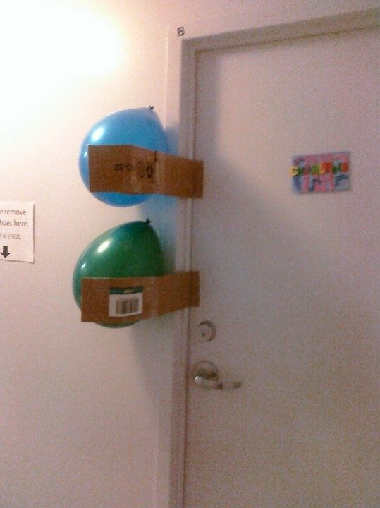 Whoever did this: | The 21 Funniest Roommate Trolls Of All Time
