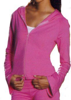 Junior Zip Hoody with Raglan Bell Sleeves, Made in The USA $52.99