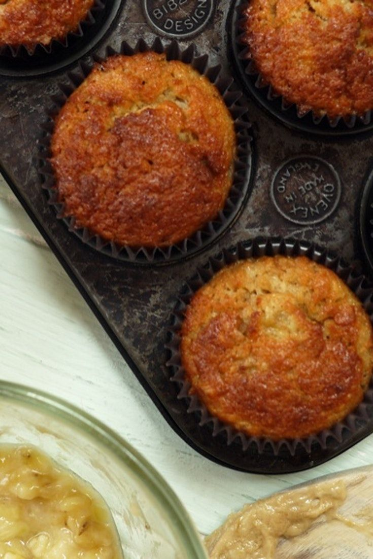 These are great for using up ripe bananas...