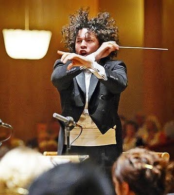 The electrifying Gustavo Dudamel  http://latimesblogs.latimes.com/culturemonster/2009/09/classical-music-season-preview.html