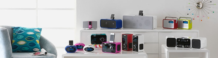 Check out the whole collection of beautifully bright technology from Acoustic Solutions at Argos.