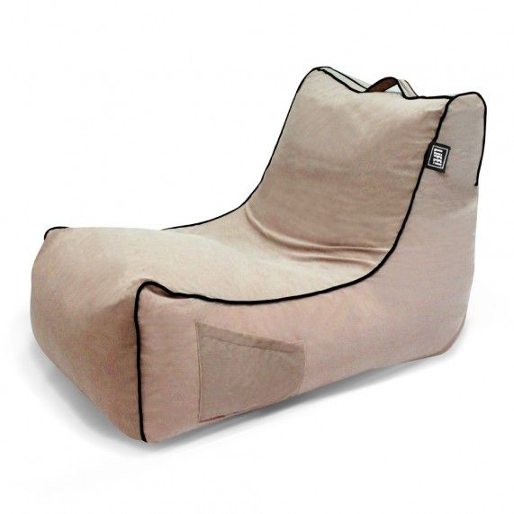 The Coastal Haven is a classic lounger shape with soft touch velour fabric, giving this stylish bean bag a warm indoor look. From lifeliveitup.com.au