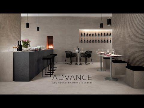 Atlas Concorde ADVANCE #PorcelainTiles #StoneLook #StoneEffect