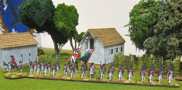More Fife and Drum Miniatures from http://altefritz.blogspot.com/2012/03/55th-regt-of-foot-awi.html