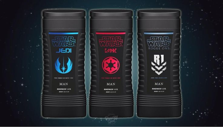 Star Wars shower gels available on pepperyspot.com  Only for Men