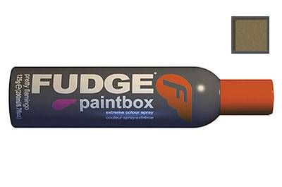 Fudge paintbox spray gold glitter 125g extreme temporary spraySpice it up for a night of action with Paintbox Hairspray. This medium hold hairspray colours your hair anyway you want and comes out with just 1 shampoo. Temporarily adds inten http://www.comparestoreprices.co.uk/hair-care-products/fudge-paintbox-spray-gold-glitter-125g.asp