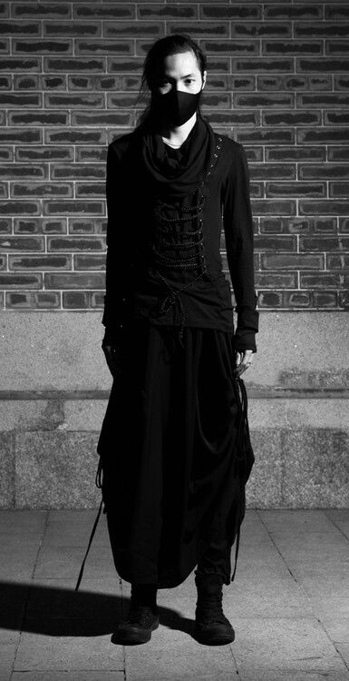 Modern samurai inspired fashion!
