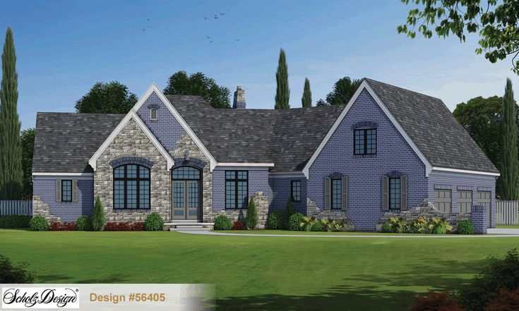30 best French Country Home Plans images on Pinterest   Cottage home Scholz Ranch Home Design on
